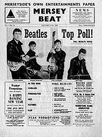 This Day: Beatles make front page of Mersey Beat in 1964