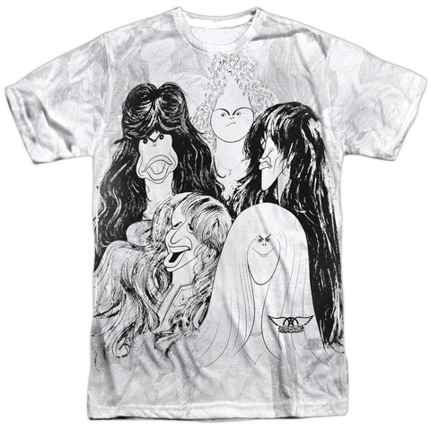Aerosmith Sublimation Lines T-Shirt - Brenda and Eddie