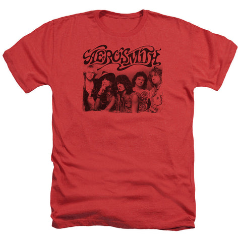 Aerosmith Old Photo Men's Heather T-Shirt - Brenda and Eddie