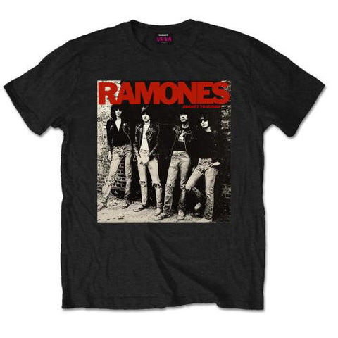 Ramones Mens Tee : Rocket To Russia T-Shirt