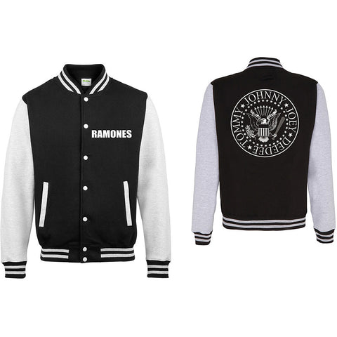 RAMONES MEN'S VARSITY JACKET : PRESIDENTIAL SEAL