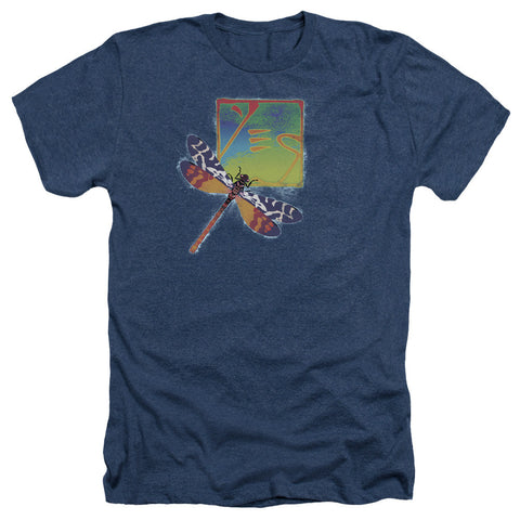 YES Dragonfly Men's Heather T-shirt