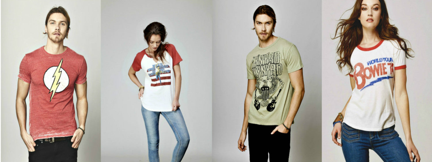 Band t-shirts | band hoodies | concert t-shirts | Brenda and Eddie