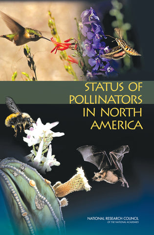 Status of Pollinators in North America book cover
