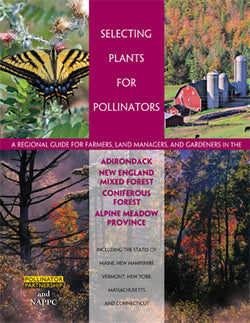 Selecting Pollinator Plants by eco-region, Pollinator Partnership, pamphlet cover