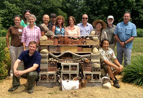 A multi-state working group across Northern New England pollinator habitat website image