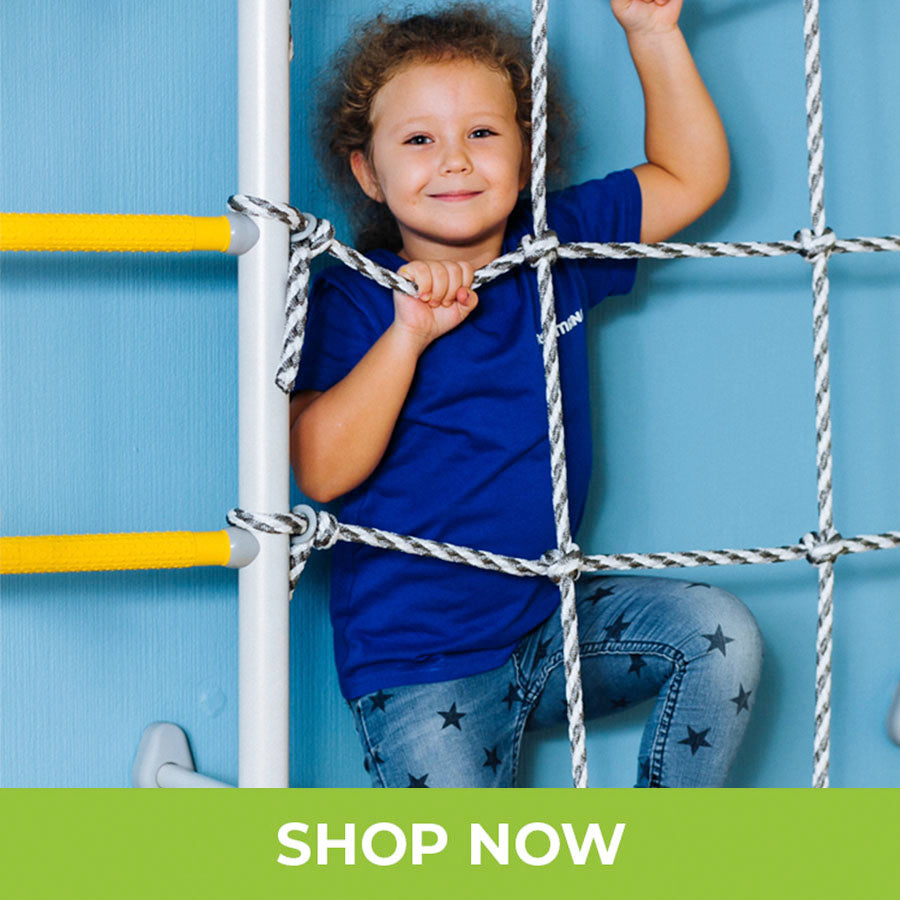 Indoor Monkey Bars for Kids