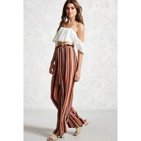 how to style your palazzo pants. styling your palazzo pants the baciano way.