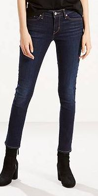 denim levis pants with suede boots