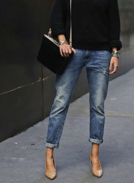 cropped boyfriend jeans for your summer style.