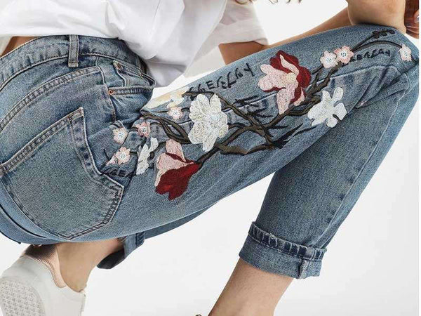 styling your statement denim jeans.