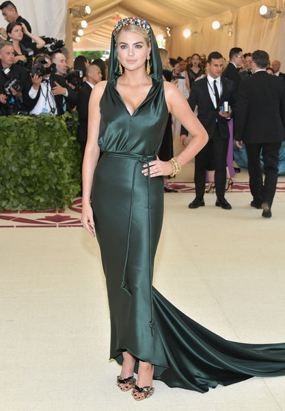 Kate Upton in Zac Posen met gala 2018