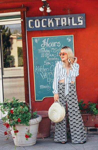 easy palazzo pants styling online