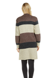 Load image into Gallery viewer, Stripe Print Pullover Jacket