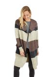 Load image into Gallery viewer, 3083 Viola Striped Jacket Baciano