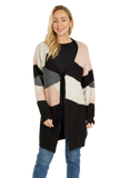 Load image into Gallery viewer, Womens print sweater jacket