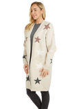 Load image into Gallery viewer, Stars Print Pullover Jacket