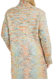 Load image into Gallery viewer, multicolor design pullover coat