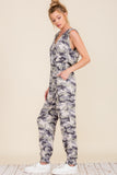 Load image into Gallery viewer, Camo Hooded Romper | Womens | Baciano