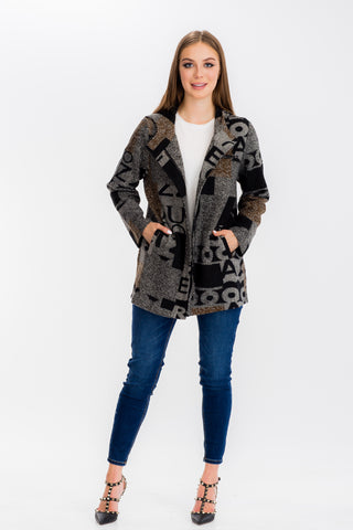 83581 Letterman Long Jacket