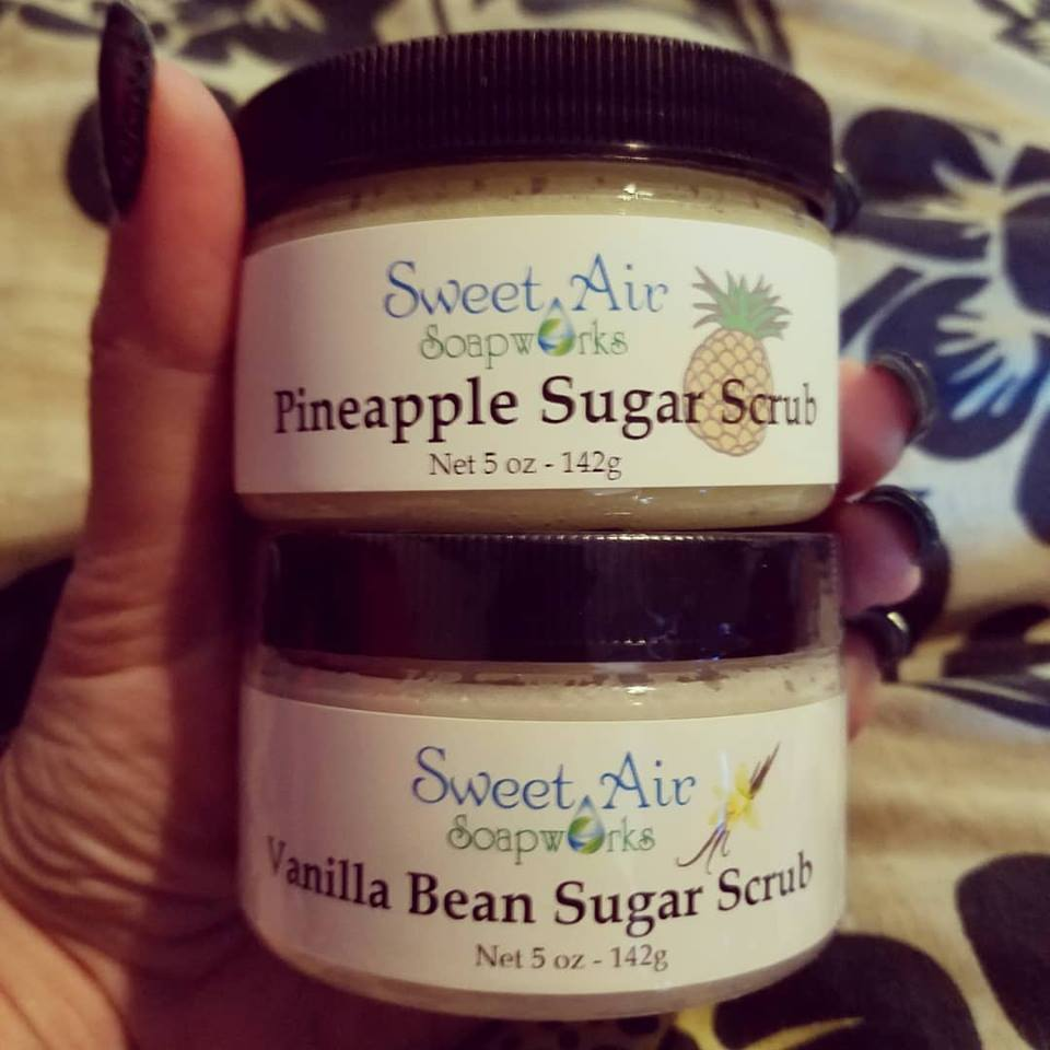 Pineapple Sugar Scrub