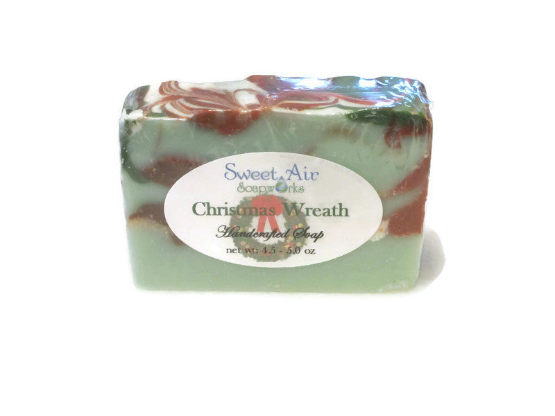 Christmas Wreath Soap