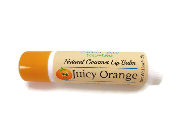 Juicy Orange Gourmet Lip Balm