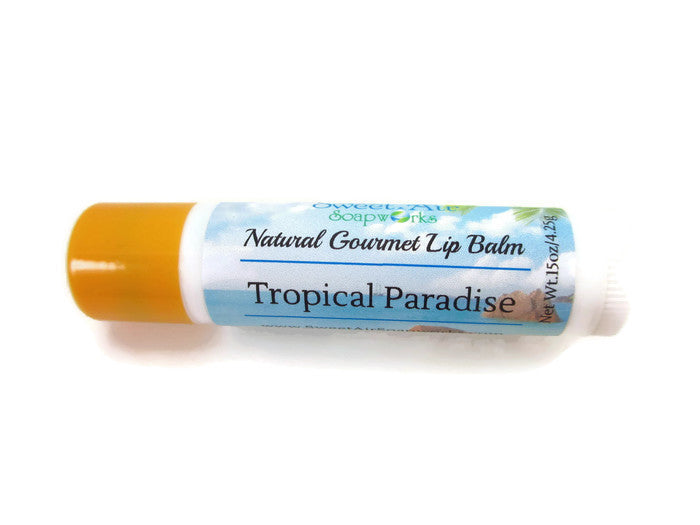 Tropical Paradise Gourmet Lip Balm