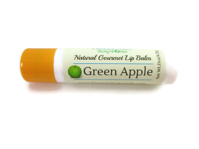 Green Apple Gourmet Lip Balm