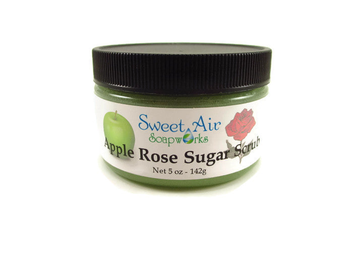 Apple Rose Sugar Scrub