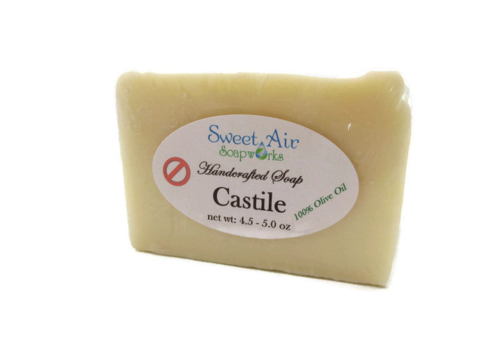 Castile Natural Soap - Unscented