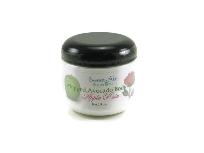 Apple Rose Whipped Avocado Body Butter