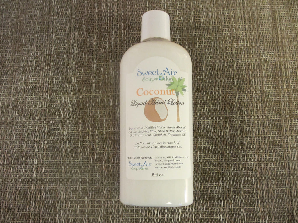Coconut Hand Lotion