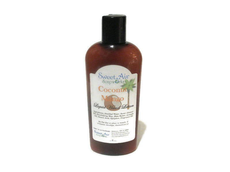Coconut Mango Hand Lotion