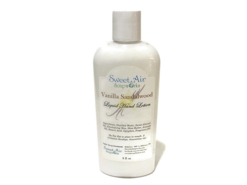 Vanilla Sandalwood Hand Lotion