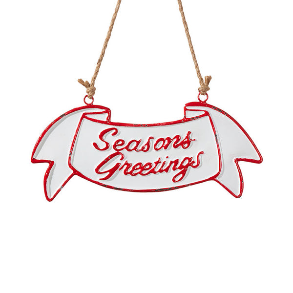 Seasons Greetings Sign LOCAL ONLY