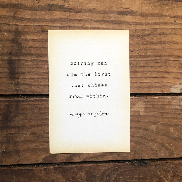 Quote Card - Angelou 1