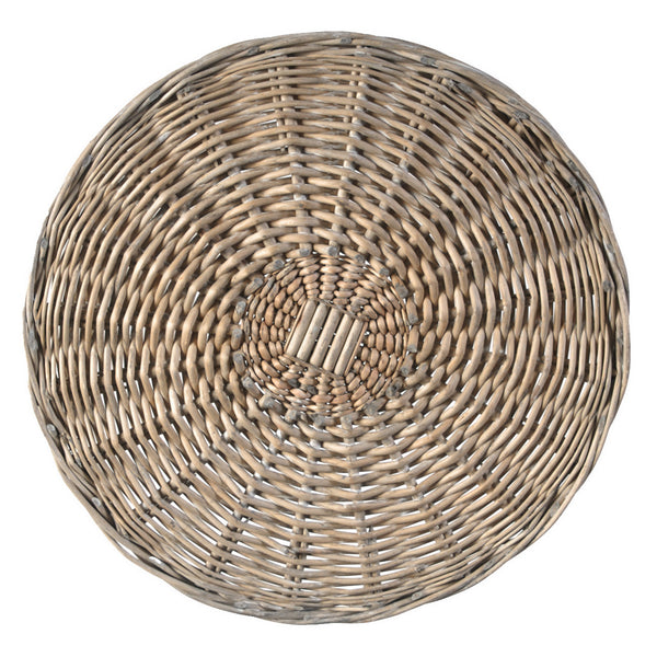 Woven Weathered Willow Placemat, Set of 4 LOCAL ONLY