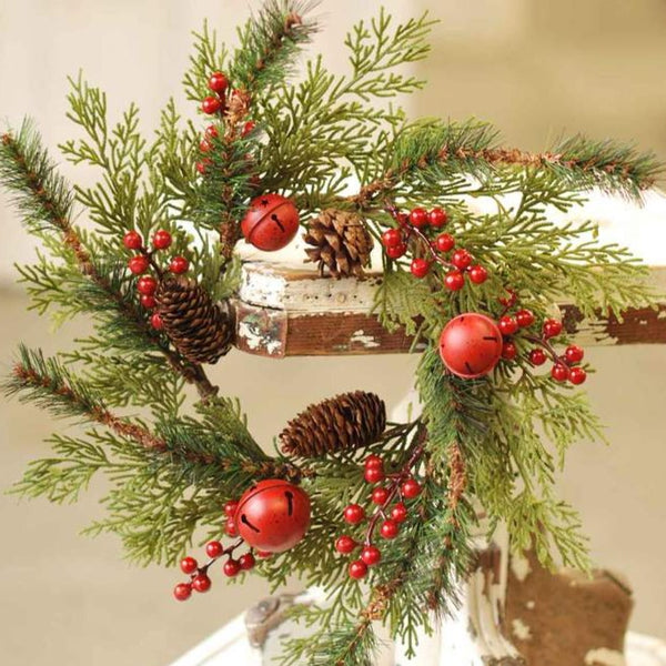 Jingle Pine Candle Ring LOCAL ONLY