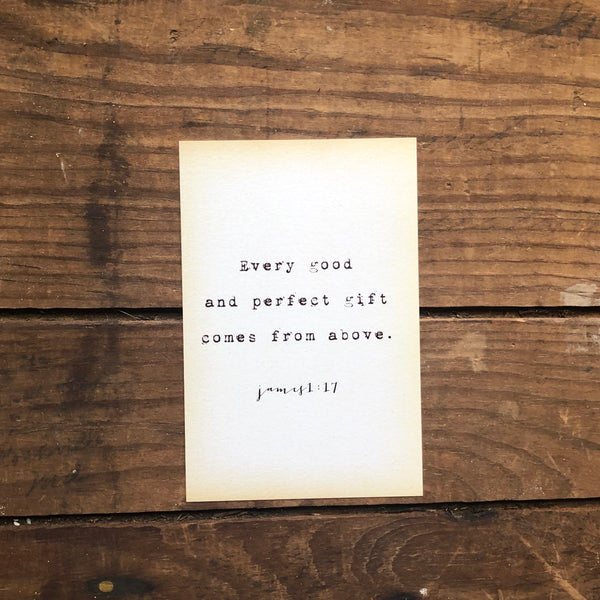 Quote Card - James 1