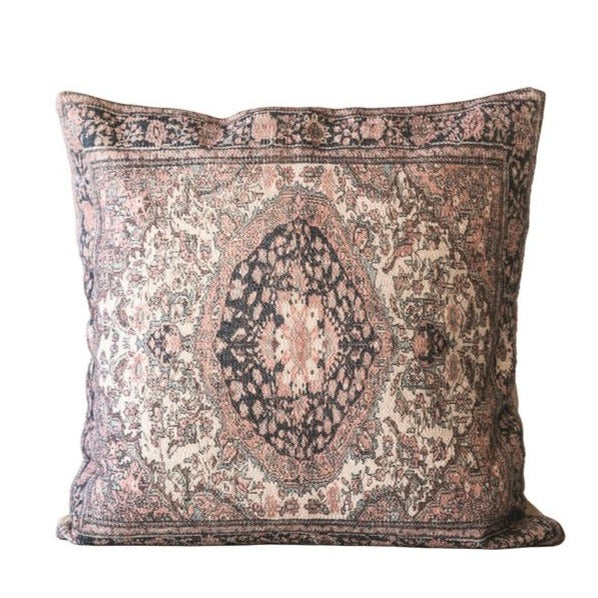 Vintage Inspired Cotton Pillow