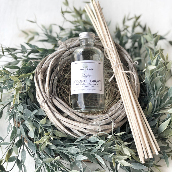 Coconut Grove 46 Oak Room Diffuser, LOCAL ONLY