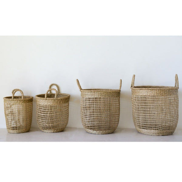 Open Weave Basket Set of 4