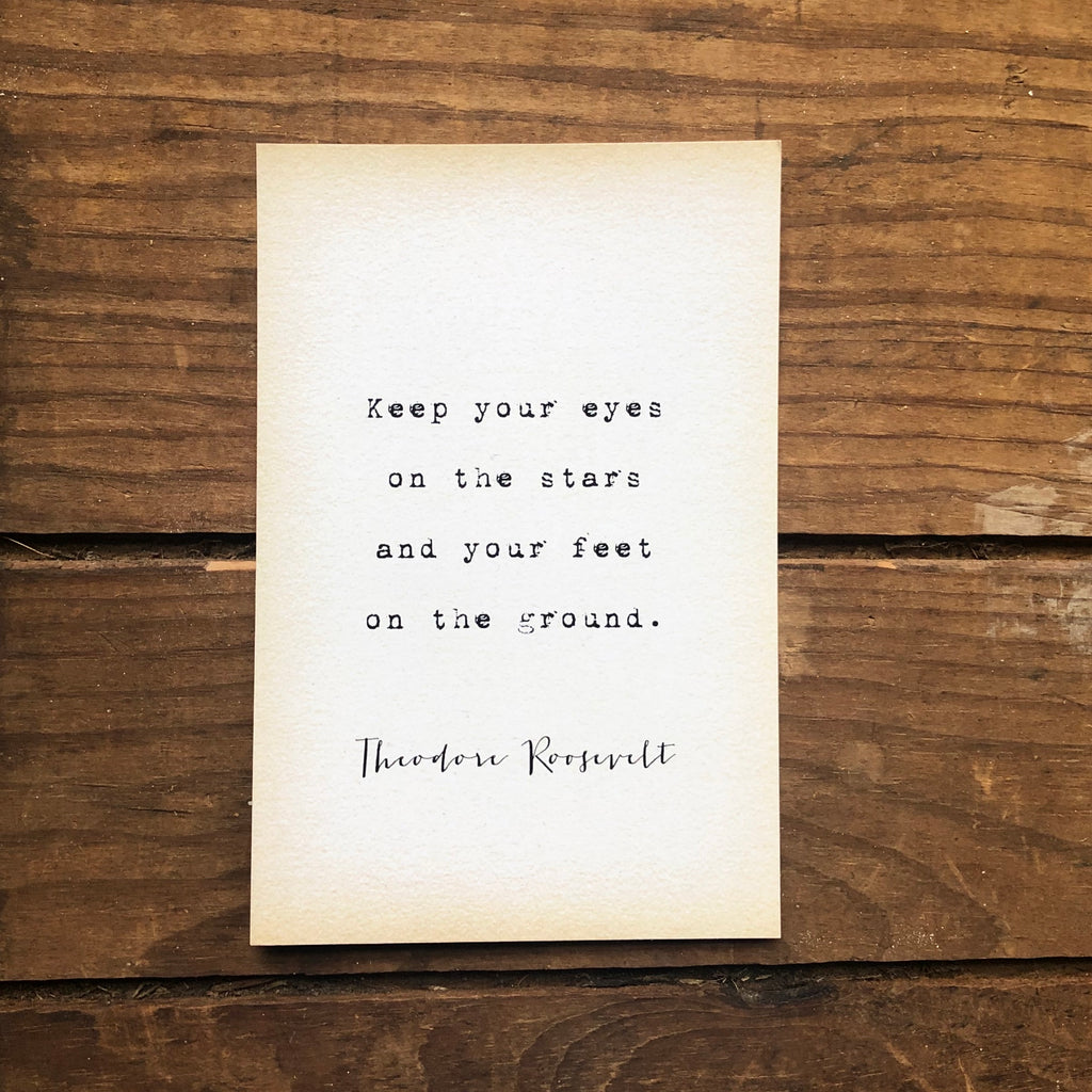 Quote Card -T. Roosevelt