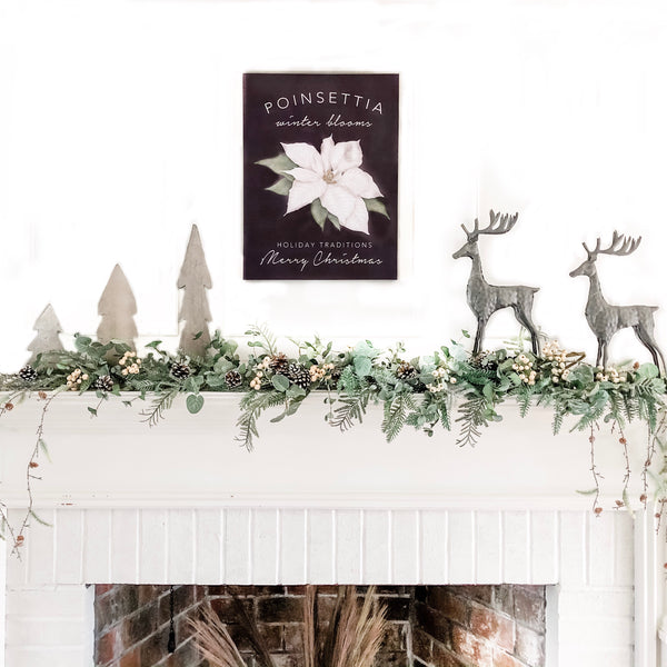 DIY Holiday Mantle Kit Curated by Celebrated Nest