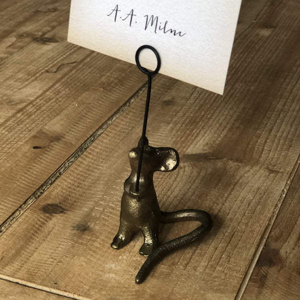 Quote Card Holder - Mouse