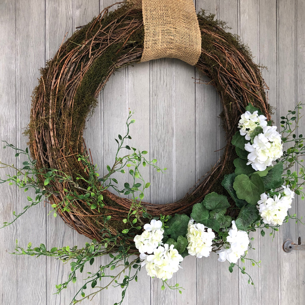 Large Outdoor Spring Wreath LOCAL ONLY