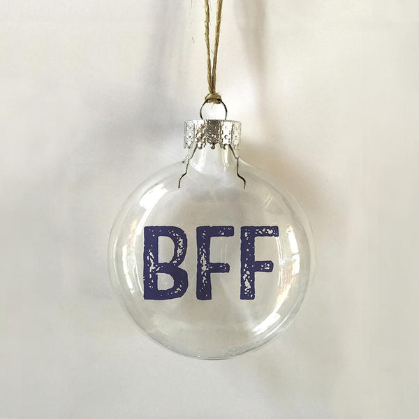 BFF Ornament LOCAL ONLY