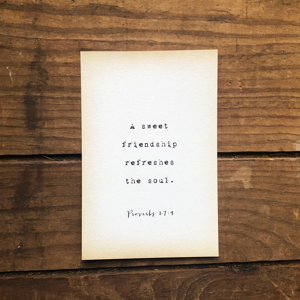 Quote Card - Proverbs 27