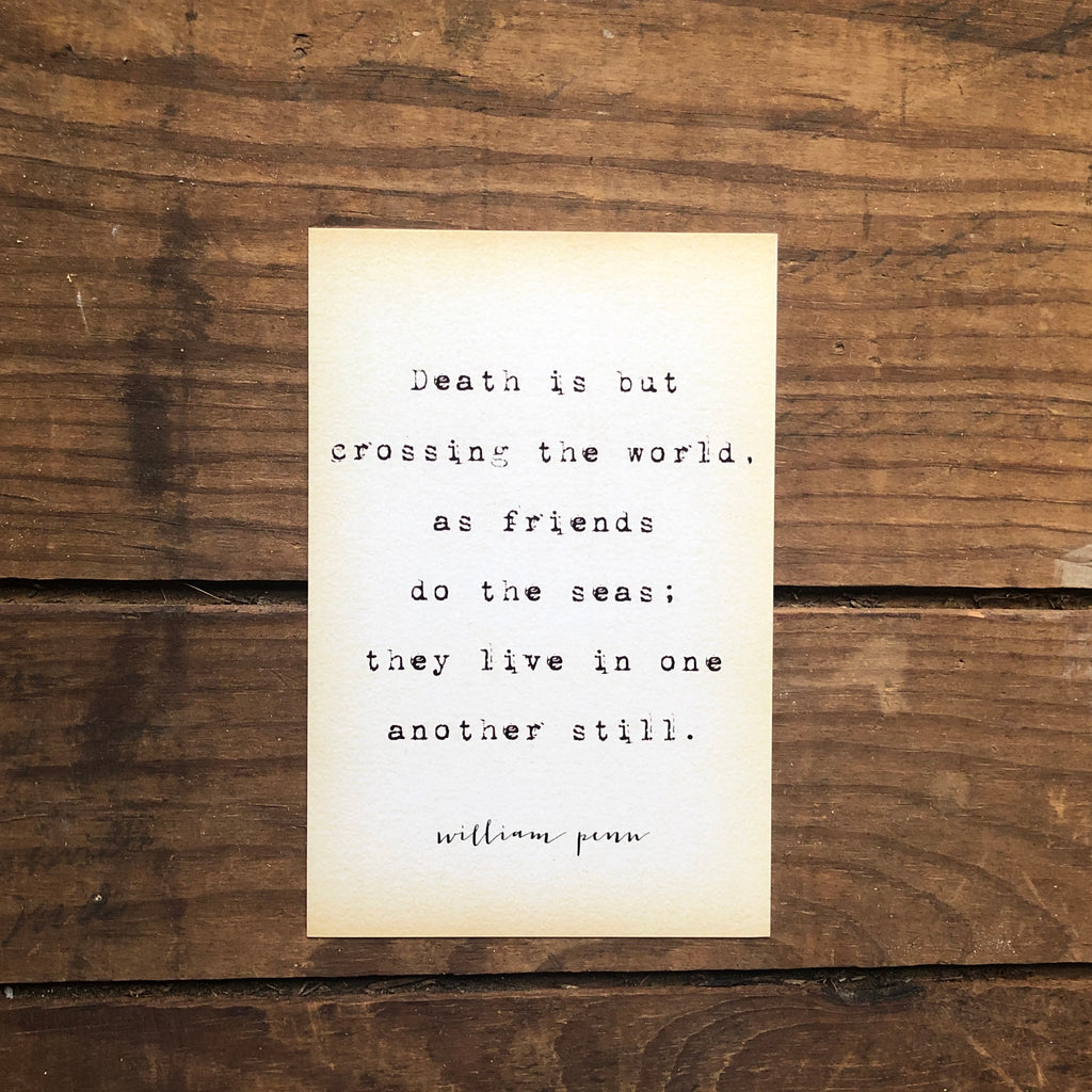 Quote Card - Penn